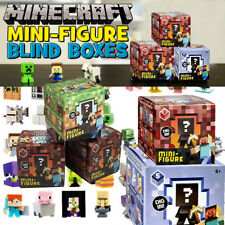 5 ct Lot, Minecraft Collectible Figure, Blind Box, Mixed series