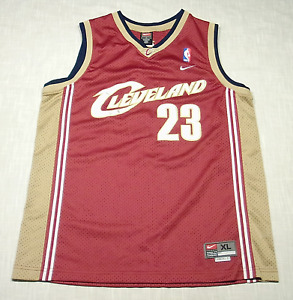 Used CLEVELAND CAVALIERS Lebron James Jersey (Nike) SEWN/STITCHED! Youth XL