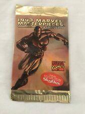 1993 SkyBox Marvel Masterpieces Sealed Vintage Original Comic Card Foil Pack New