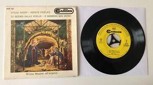 """EP 7"""" RCA CAMDEN 1960 BRUNO NICOLAI ALL'ORGANO LE PIU' BELLE MUSICHE DI NATALE"""