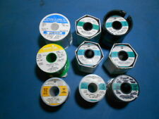Kester, Indium, Sparkle Lead Free Solder Lot of 9