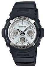 Casio G-Shock Herren Uhr AWG-M100S-7AER Funk Solar schwarz weiß