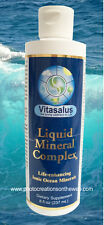 NEW! LIQUID IONIC MINERALS 8OZ.ORGANIC~VEGAN~DIETARY SUPPLEMENT~ALL GENDERS-AGES