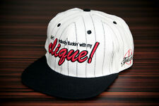 Phoenix Clique Snapback - Cap Baseball Hat White Black Skate Kappe West New