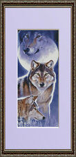 WOLF SPIRITS~COUNTED CROSS STITCH PATTERN ONLY