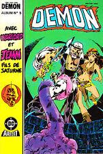 C1 DEMON Album 5 # 7 et 8 1986 Aredit DC ARION Warlord JEMM Fils Saturne