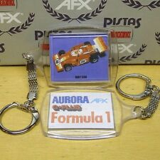 Aurora Afx G+ Red Indy 500 F1 Slot Car Key Chain 1980s