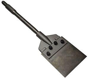 Jack Hammer Flexible Blade Floor Scraper Tile Chisel. Jackhammer 30mm Hex