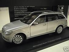 MERCEDES-BENZ C-KLASSE T-MODELL argent 1/18 AUTOart 76266 voiture miniature coll