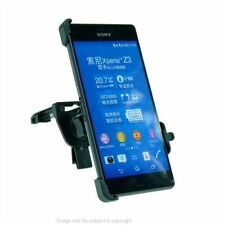 Support de voiture de GPS noir Sony Xperia Z3 pour téléphone mobile et PDA