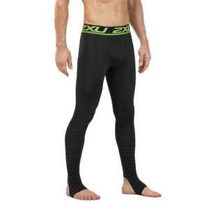 2XU Men's Power Recovery Compression Tights-Black/Nero RRP £110