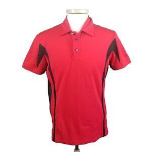 Galvin Green Medium Red Comfort Tech Cotton Blend Golf Shirt