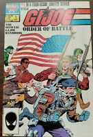 GI Joe Order of Battle #1 Wrap around Cover Marvel Comic 1st Print 1986 NM