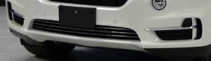 BMW OEM F15 X5 2014+ Pure Excellence Chrome Front Bumper Trim Package Brand New