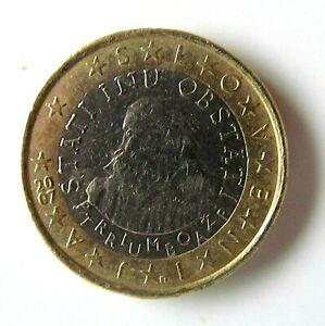 PIECE 1 EURO SLOVENIE de 2007