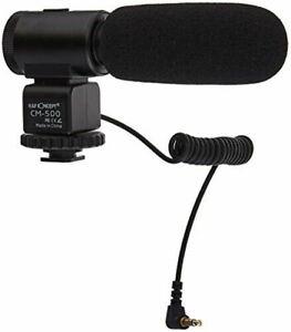 K&F Concept CM-500 Camera MicrophoneProfessional External Shotgun Mic (UK) BNIB