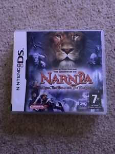 NINTENDO DS THE CHRONICLES OF NARNIA GAME