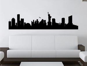 Skyline New York city wall sticker | New York Wall Decal