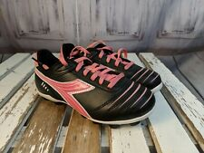 youth soccer shoes sneakers girl soccer softball cleats diadora 1.5 1.5Y pink