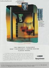 B & O Bang & Olufsen PRINT AD 1997 BeoSound 4000 CD Recorder Radio Vintage  Rare