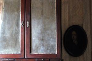 Antique Fine Quality Irish George II Mahogany Bureau Bookcase c.1740-50