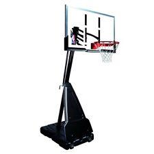 "Spalding Nba 60"" Acrylic Backboard Portable Basketball System Assembled !*New*"