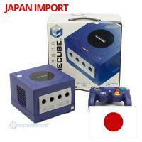 Nintendo GameCube - Konsole #lila + Original Controller + Zub. JAP mit OVP