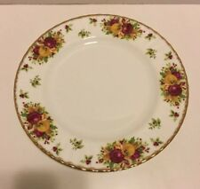 Royal Albert OLD COUNTRY ROSES HOLIDAY Dinner Plate Christmas  EXCELLENT!