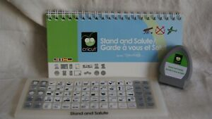 Cricut Cartridge - STAND AND SALUTE - Gently Used - No Box