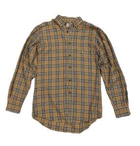 Vintage 90s Burberry Nova Check Long Sleeve Shirt