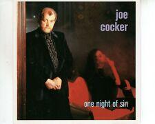 CD JOE COCKERone night of sinHOLLAND EX  (A3654)