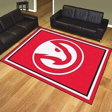 Atlanta Hawks 8' X 10' Decorative Ultra Plush Carpet Area Rug