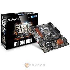 SCHEDA MADRE ASROCK H110M HDV MATX DDR4 SATA3 USB3.0 SK1151 VGA DVI HDMI