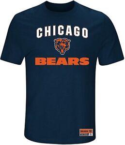 Chicago Bears Men's Line of Scrimmage T-Shirt - navy