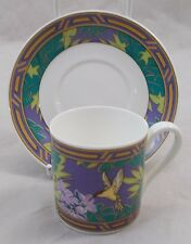 Villeroy & and Boch SUMMER MEMORIES - HAWAII espresso cup and saucer