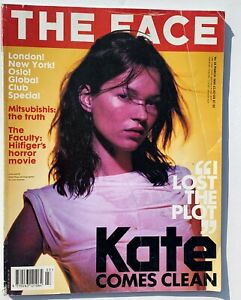 1999 Kate Moss THE FACE fashion and clubbing mag