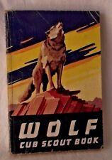 Wolf Cub Scout Book 1963 Boy BSA Manual Handbook Illustrations Activities Vtg