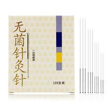 disposable acupuncture sterile needles 100pcs/box single use zhongyanEB