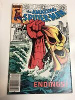 Spider-man (1983) # 251 (F) Canadian Price Variant Beautiful Cover !