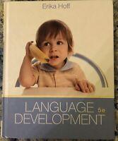 Language Development By Erika Hoff 5th Ed.