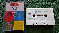 "QUEEN ""Hot Space - Espacio Caliente"" SCARCE 1982 Spain CASSETTE Freddie Mercury"