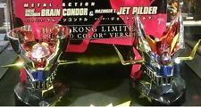 METAL ACTION GREAT MAZINGER BRIAN CONDER HEAD & MAZINGER Z JET PILDER HK Ltd Ver