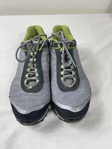 Pearl Izumi Womens Bike Shoes EUR 43 US 13 Gray And Lime Green.