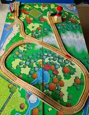 Thomas The Tank Wooden Vintage Clicket Clack Track & Bridge, Water Tower x 28.