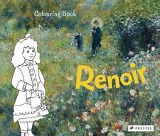 RENOIR COLOURING BOOK - ROEDER, ANNETTE - NEW PAPERBACK BOOK