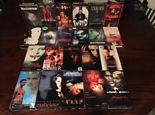 Lot of 22 Horror VHS Movies Malicious Nightmare on Elm Street House 2 Cruse 2