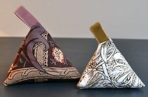 Set of 2 Lavender Bags Vintage Liberty William Morris Design Fragrant Gift Idea