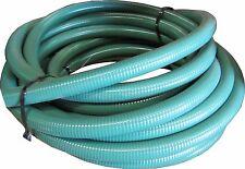 NEW KURIYAMA TIGERFLEX J125X100 PVC SUCTION HOSE 1-1/4  INCH GREEN 100 FT ROLL
