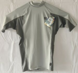 Rash Guard Vest Swim Top New Medium Skins Surf Sleeve Beach Performance Shirt