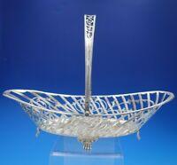 Sheffield by JD and S Silverplate Basket w/ Swing Handle Lion Feet #7761 (#4445)